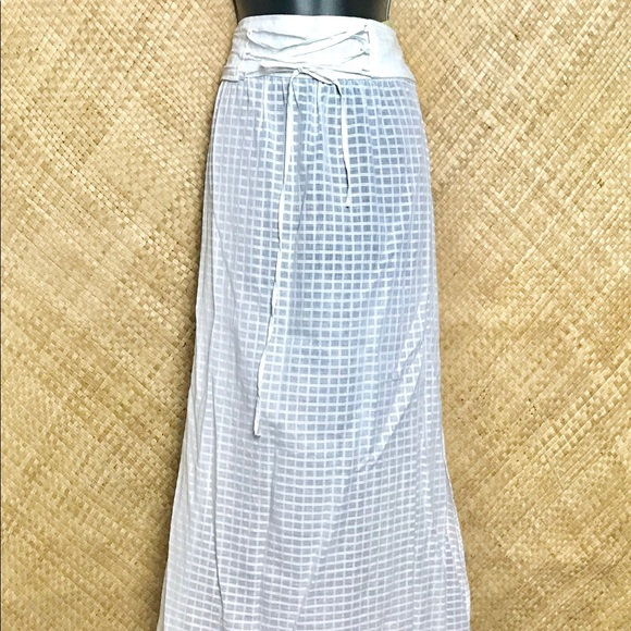 Tommy Bahama Other - Tommy Bahama long cover up white skirt
